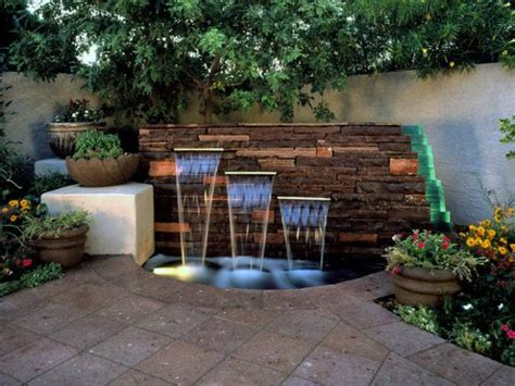 Backyard Water Feature Diy by Diy Water Feature Ideas Projects Diy