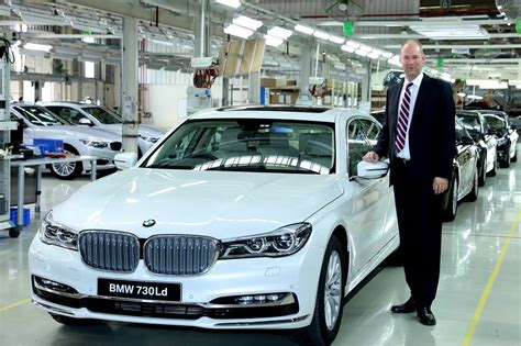 Bmw 1 Series Price In Chennai by Bmw 7 Series Locally Assembled At Chennai Plant