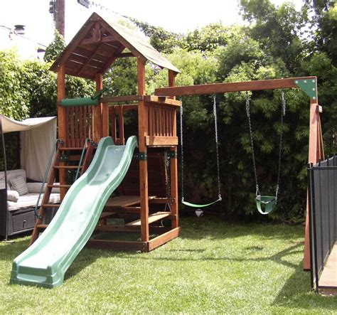 backyard adventures r 3 refurbished backyard adventures play set