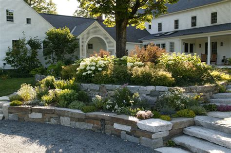 New England Farmland Traditional Landscape Boston New Landscaping
