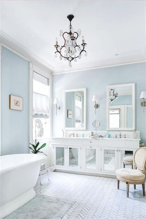 light blue bathroom walls 7 splendid light blue interiors that prove this is the new