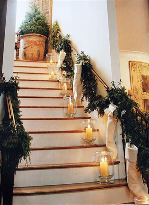 christmas banister 40 festive christmas banister decorations ideas all