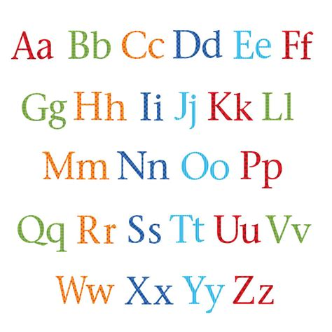 fun alphabet upper and lower case childrens alphabet wall stickers upper and lower case by