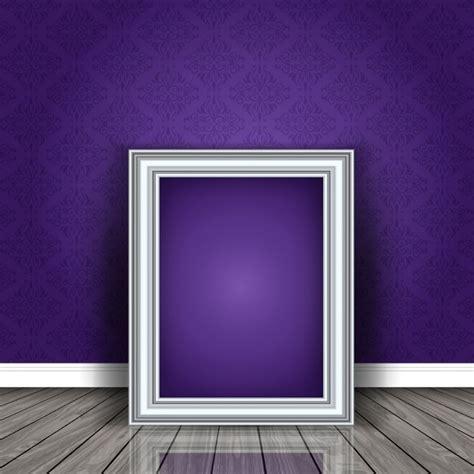 cornice gratis cornice in bianco appoggiato a un muro in una stanza