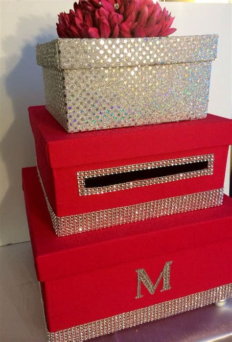 3 tier wedding card box money box money by