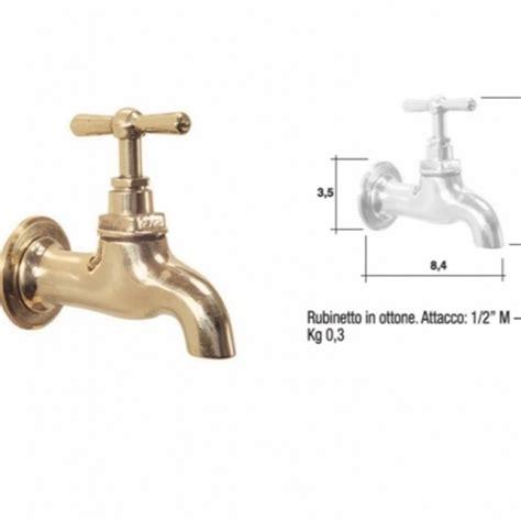 rubinetti esterno rubinetti in ottone naturale rubinetto semplice