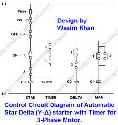 star delta control circuit refrigeration and