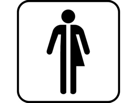 man woman bathroom symbol mesmerizing 20 bathroom sign half man half woman