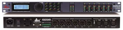 Mixer Audio Dbx dbx driverack 260 loudspeaker management system 1