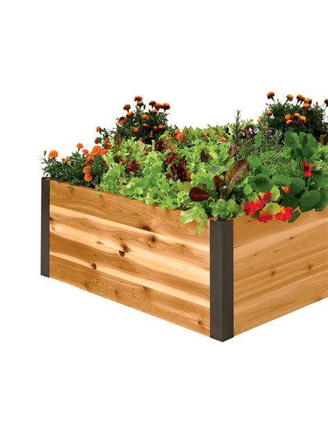 how deep should a raised garden bed be cedar raised beds 15 quot tall deep root cedar raised beds 3 ft