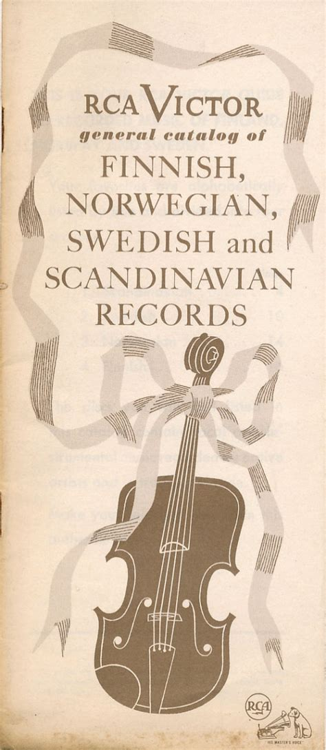 Swedish Records Record Company Catalogs Of Regional And Ethnic The