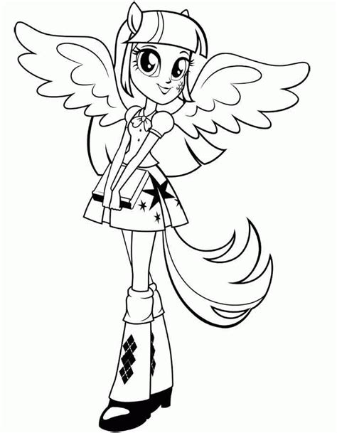 my little pony equestria girl coloring pages coloring home