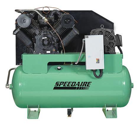 speedaire elec air compressor 2 stage 20hp 62cfm 35wc71 35wc71 grainger