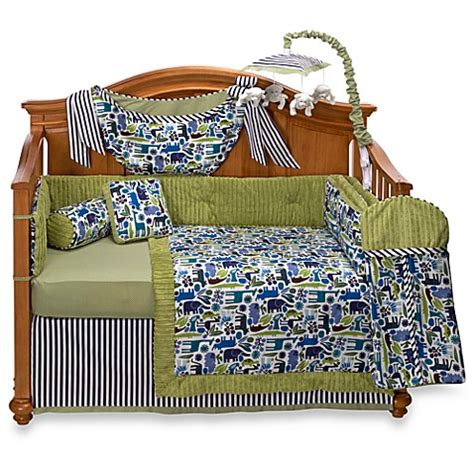 bananafish bedding bananafish 174 joshua 4 piece crib bedding and accessories
