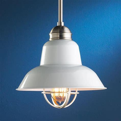 white enamel industrial pendant pendant lighting by