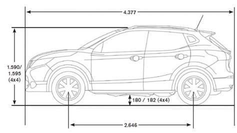 Nissan X Trail Kofferraum Abmessungen by Nissan Qashqai Technische Daten Wagen Galerie