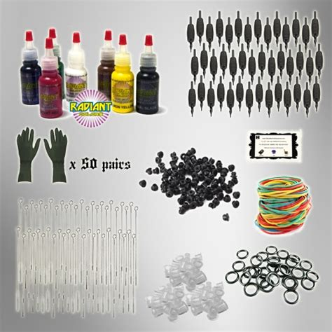 tattoo kit refill pack tattoo kit refill pack tattoo needles ink pk2 ebay
