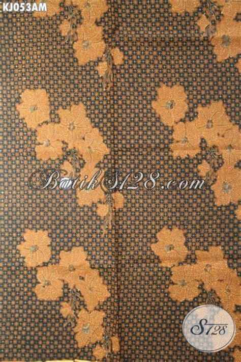 Jarik Batik Murah bahan jarik kain batik klasik motif truntum anggrek harga murah terjangkau kualitas bagus