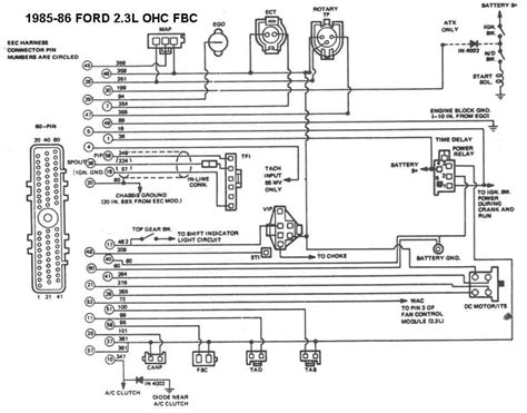 1985 ford ranger wiring diagram wiring diagram and