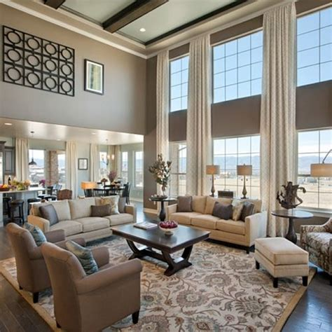 model home curtains 25 best ideas about family room layouts on pinterest