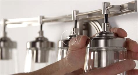 Installing A Vanity Light by How To Install Vanity Lights The Home Depot