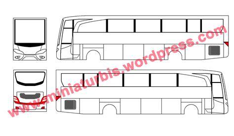 membuat mobil bus dari kardus cara membuat miniatur bus