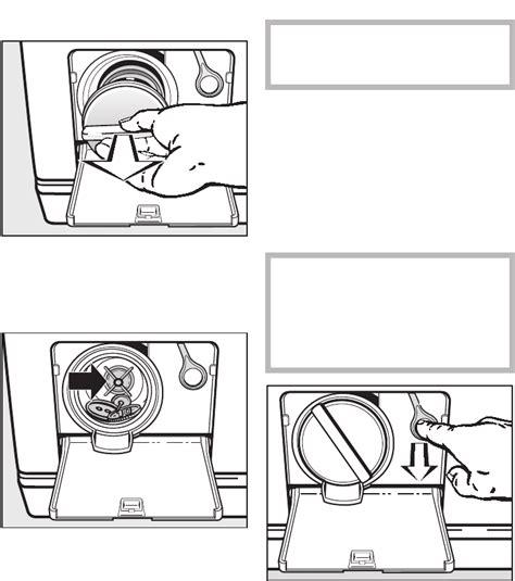 Miele Waschmaschine W 5873 Wps 2608 by Bedienungsanleitung Miele W 5873 Wps Edition 111 Seite 50