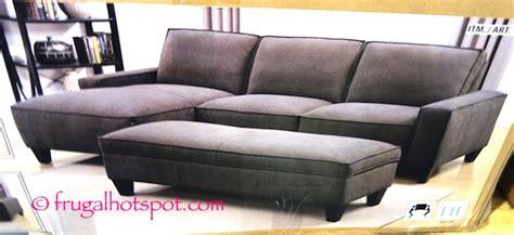 chaise sofa with storage ottoman costco costco chaise sofa with storage ottoman 799 99 frugal