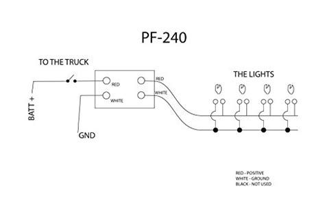 maxxima strobe light wiring diagram 35 wiring diagram