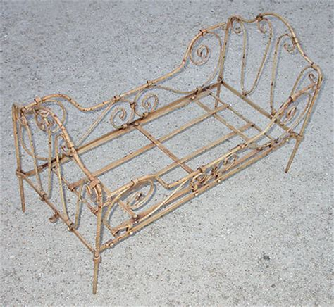 Used Iron Crib For Sale by Antique Wrought Iron Steel Baby Doll Crib Bed