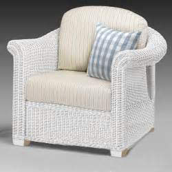 wicker chair white conservatory furniture rattan