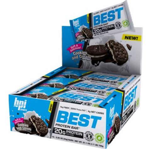 top rated protein bars barras de prote 205 na bpi best protein bar tienda de