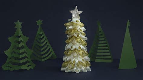 diy tabletop christmas tree craft how to make christmas