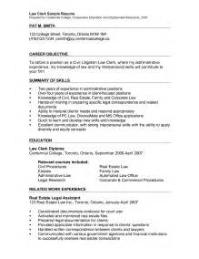 Sle Format Of Resignation Letter by Exles Of Clerical Resumes Resume Format Pdf