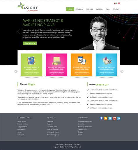 templates for website development web development company website template