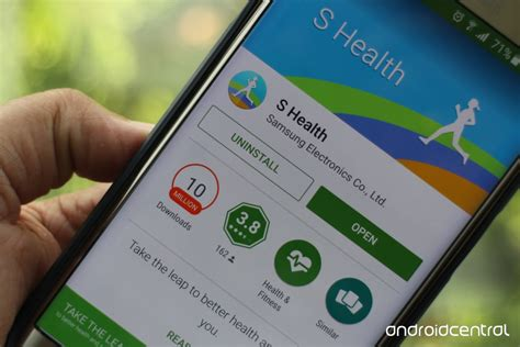 Android Health App by Samsung S Activity Tracking App S Health Is Now Available