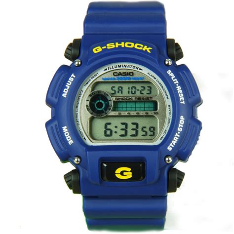 G Shock Dw9052 casio g shock dw9052 dw9052 2 blue digital warranty
