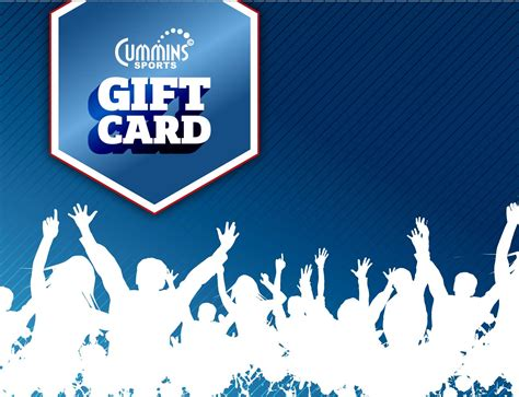 I Store Gift Card - in store gift card cummins sports