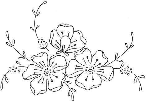 disegni di fiori da ricamare fiori disegno di ricamo