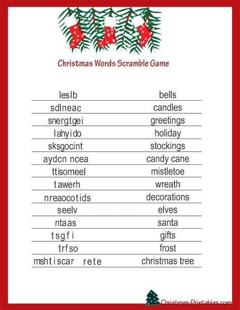 free printable office christmas games free printable word debbie sutton