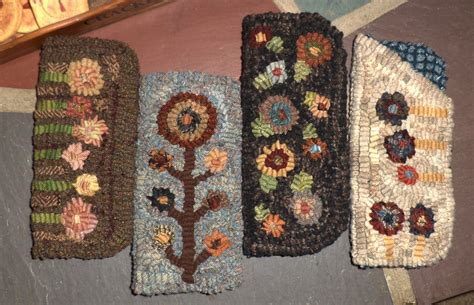 primitive rug hooking patterns epattern primitive folk rug hooking pattern scrappy