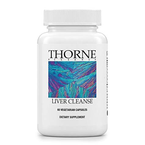 Thorne Detox Nutrients Packet Reviews by Thorne Research Liver Cleanse Support System For