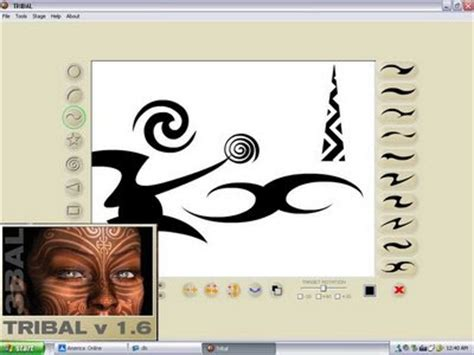 tattoo designer program symbols tattoos names free tribal design