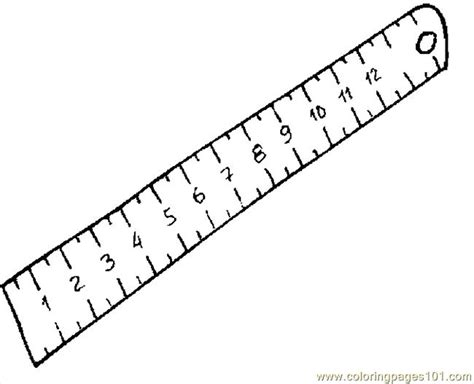 free coloring pages of centimeter ruler ruler 18 coloring page free printable coloring pages
