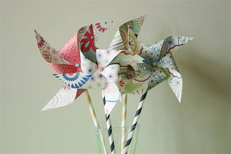 Make Paper Pinwheels - how to make paper pinwheels 35 diys guide patterns