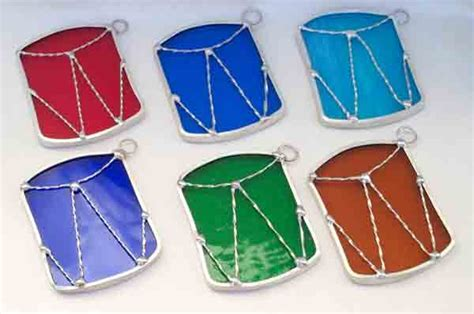 Christmas Ornaments - marcella s corner art glass main page handmade with love art glass