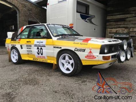 Audi Rally Car For Sale by Audi Sport Quattro S1 Rally Car