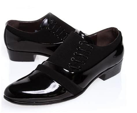 SIZE:39 44 Black Groom Shoes Men Leather Shoes Men'S