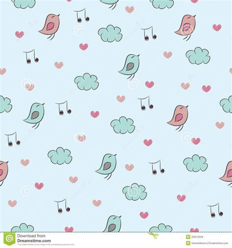 Kunst Mit Nägeln by Nahtloses Muster Mit V 246 Geln Herzen Wolken Und Nein