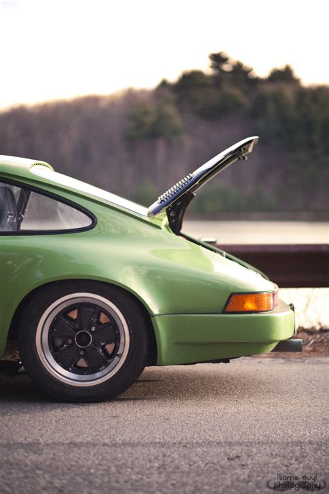 green porsche vintage porsche 911 brian knows what he is doing